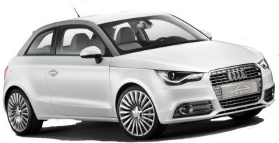 Photo du design extérieur de l'Audi A1 E-Tron de 2010