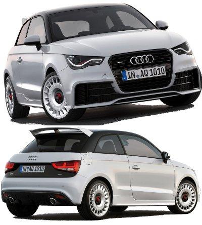 Avec sa transmission intégrale, son moteur de 256 ch et son look d'Audi RS, l'Audi A1 Quattro devient la version la plus sportive de l'Audi A1.