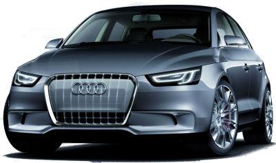 Photo du design extérieur du concept-car Audi A1 Sportback Concept